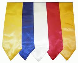 graduation accessories the greekshop lettered satin graduation stoles