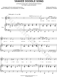 yankee doodle club george m cohan yankee doodle song arr donnelly george