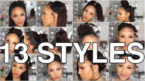 Hairstyles For Girls With Long Straight Hair by 13 Styles For Straight Natural Hair Youtube