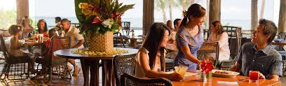 the dining room at little palm island dining aulani hawaii resort u0026 spa