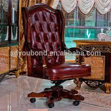Latest Italy New Design Executive Luxury Office Furniture - Luxury office furniture