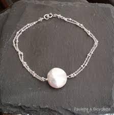 bracelet fine images Bracelet mariage perle de culture et chaine fine jpg
