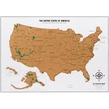 Connecticut Map Usa by Travel Tracker Map Usa National Parks Landmass Goods