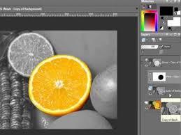 paint shop pro tutorial color over black u0026 white colorsplash