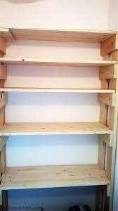 Free Wooden Garage Shelf Plans by Diy Wood Garage Shelves Myoutdoorplans Free Woodworking Plans