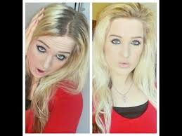 hairstyle to hide grey roots how to hide dark roots on blonde hair youtube