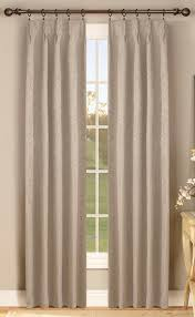 Pinch Pleat Patio Panel by Gabrielle Thermal Insulated Pinch Pleat Curtain Pair Curtain