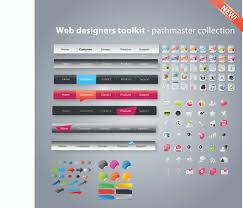 free web designer useful web design tools pack 02 vector free vector 4vector
