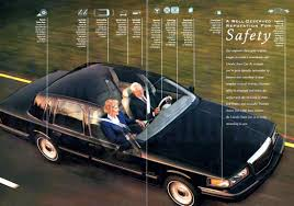 lincoln land product details 1996 lincoln town car sales brochure