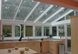 kitchen conservatory ideas photo of conservatory kitchen kitchen extension volcano island