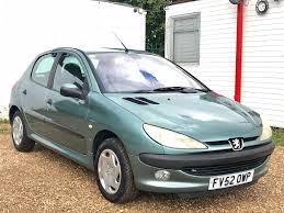 used peugeot 206 hatchback 1 4 hdi lx 5dr a c in peterborough