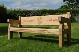 memorial benches oak memorial benches made in the united kingdom