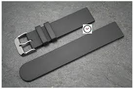 bracelet montre silicone images Bracelet montre caoutchouc italien classique noir pas silicone jpg