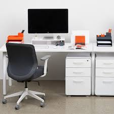 White Desk With File Cabinet by Poppin File Cabinet White Poppin 3 Drawer Stow File Cabinet