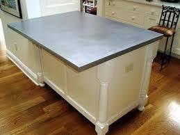 Slipcast Zinc Black Granite Countertops by The 25 Best Zinc Countertops Ideas On Pinterest Metal