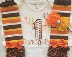 infant thanksgiving football turkey