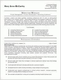 ideas of sample marketing manager resume for your letter template