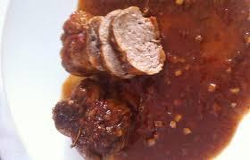 cuisiner paupiette de veau paupiettes de veau sauce balsamique recette dukan pl par fanie37