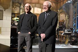 larry david and bernie sanders are related