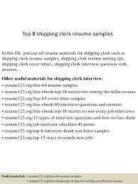 shipping clerk resume professional warehouse shipping clerk