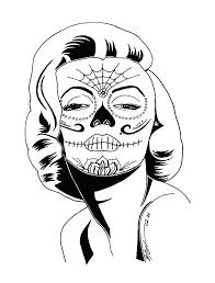 printable coloring pages sugar skulls skull printable coloring pages skull printable coloring pages as