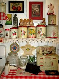 old fashioned kitchen canisters nice canister collection in this very cute red and white kitchen