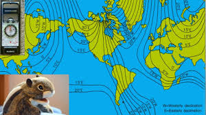 magnetic declination map flat earth compass magnetic declination chart