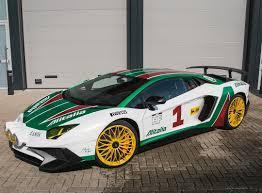 rally lamborghini lamborghini aventador alitalia super veloce autos pinterest