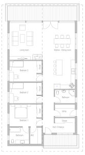 30x30 House Plans by House Design House Plan Ch400 10 Houses Pinterest House