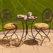 Outdoor Bistro Chair Pads Bistro Chair Cushions Round Round Seat Cushions And What You