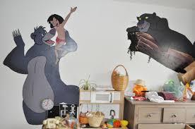 fresque chambre b fresque livre de la jungle antoine