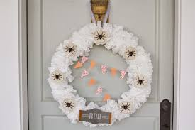 Halloween Wreath Supplies by Nesting In The Bluegrass Coffee Filter Halloween Wreath