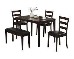 five piece dining room sets monarch specialties inc 5 piece dining set u0026 reviews wayfair