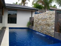 build a pool house how to build a water wall