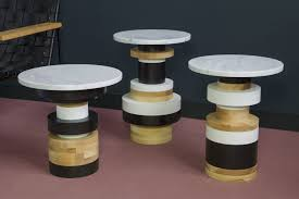 Set Table by Sass Side Tables Set Of 3 Souda