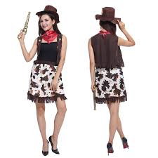 Cowgirl Halloween Costumes Adults Popular Cowgirl Halloween Costumes Buy Cheap Cowgirl