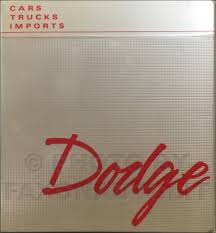 1989 dodge dakota repair shop manual original