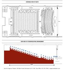 seating chart u0026 accessibility john w engeman theater
