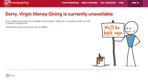 site unavailable official fundraising site for london marathon crashes on race day