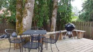 Deck With Patio by Stylish Home For Eight 8 In Northwest Cor Vrbo