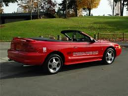 mustang of indianapolis 1994 ford mustang cobra indy pace car convertible 81772
