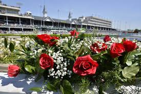 Kentucky Derby Flowers - kentucky derby u0026 trakus data and down the stretch they come
