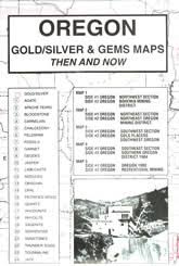 map of oregon gold mines oregon gold silver maps and gems maps