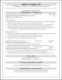 new graduate nursing resume samples