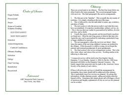 Church Programs Template Blank Program Template Pacq Co