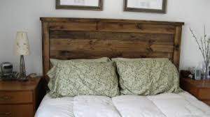 Headboards Made With Pallets Gorgeous Design Wood Headboards Diy Pallet Rustic Reclaimed And