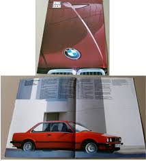 bmw 320i brochure bmw motor book and secondhand automotive books and
