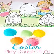 Easter Egg Decorations Printables by Easter Eggs Playdough Mats Free Printable Activity For Kids