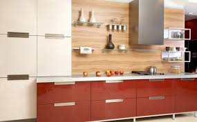 types of kitchen backsplash interior wooden kitchen backsplash and modern and white