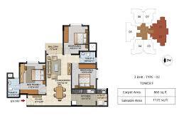 urbana aqua 2 3 4 bhk luxury apartments floor plans 2 3 bhk